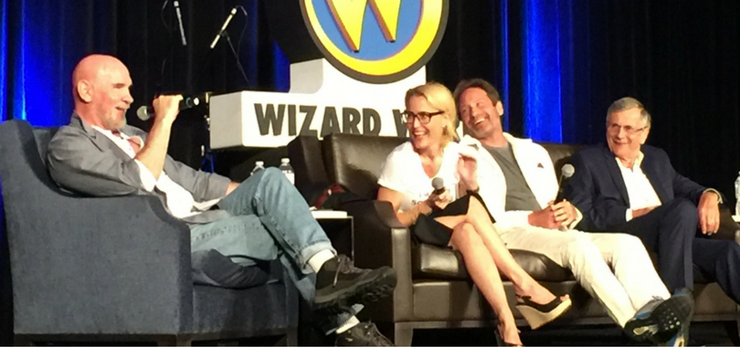 X-Files Panel at Wizard World