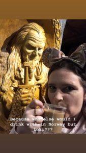 Viking coffee and Loki